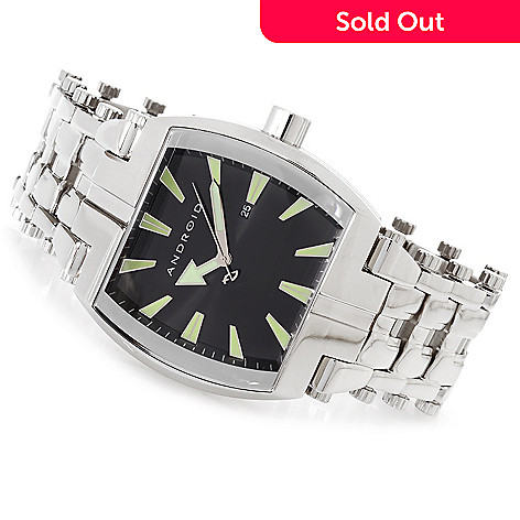 627-233 - Android 47mm Millipede 3 Quartz Stainless Steel Bracelet Watch