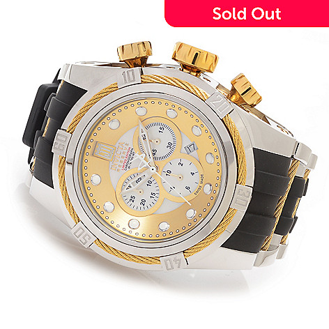 627-243 - Invicta Reserve 52mm Jason Taylor Bolt Zeus Limited Edition Strap Watch w/ Three-Slot Dive Case