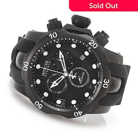 627-622 - Invicta Reserve 52mm Venom Swiss Made Quartz Chronograph Polyurethane Strap Watch