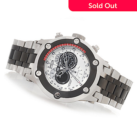 627-624 - Invicta Reserve 52mm Specialty Subaqua Swiss Made Quartz Chronograph Stainless Steel Bracelet Watch