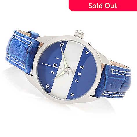627-676 - Android 36mm Horizon Mini Quartz Leather Strap Watch