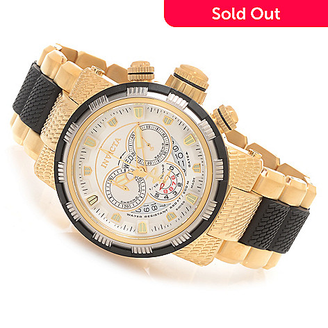 627-852 - Invicta Reserve 48mm Capsule Swiss Made Quartz Chronograph Stainless Steel Bracelet Watch