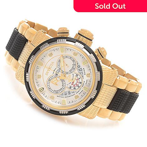 627-852 - Invicta Reserve 48mm Capsule Swiss Made Quartz Chronograph Stainless Steel Bracelet Watch