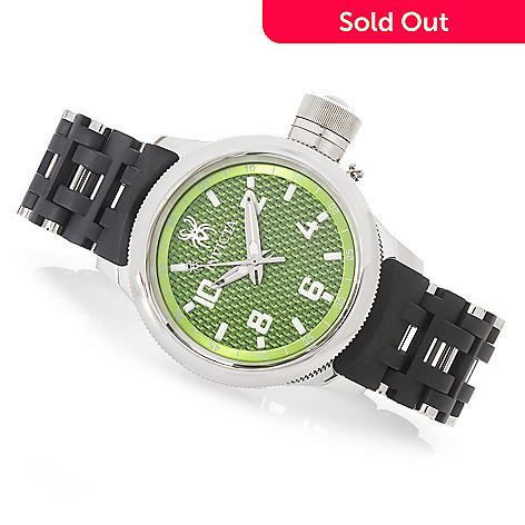 628-028 - Invicta 42mm or 52mm Russian Diver Spider Quartz Bracelet Watch w/ One-Slot Dive Case