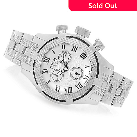 628-240 - Invicta Reserve 41mm Bolt Gen. III Swiss Chronograph Bracelet Watch w/ Eight-Slot Dive Case