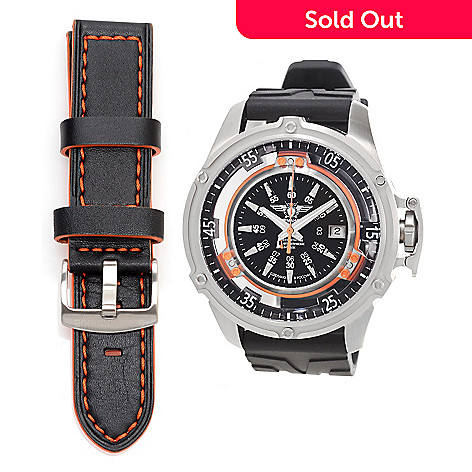 628-526 - Sturmanskie 50mm Mars Cosmonaut Trainer Swiss Automatic Rubber Strap Watch
