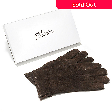 701-139 - Cedric's Men's Suede Leather Gloves