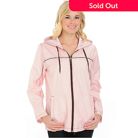 701-790 - Fleet Street Hooded Zip Front Coat