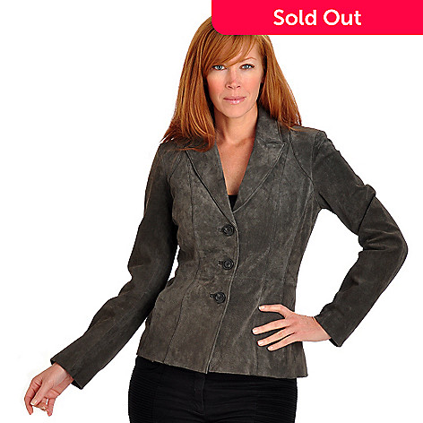701-887 - Geneology Stretch Suede Jacket