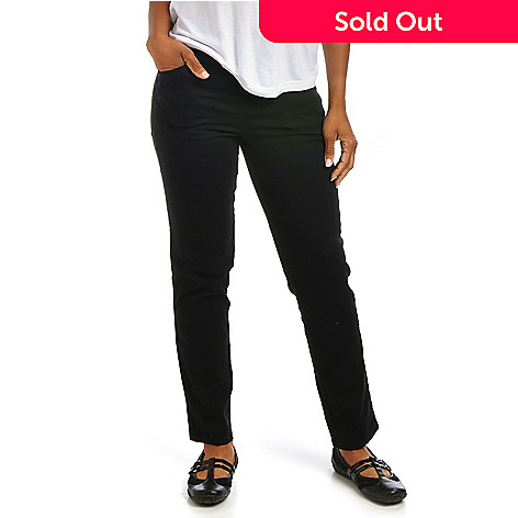 702-189 - OSO Casuals Two-Pocket Tummy Control Cotton Stretch Pants