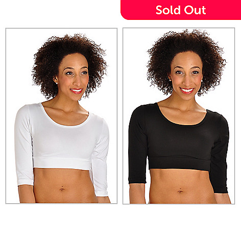702-950 - Halftee™ Set of Two 3/4 Sleeved Layering Tops