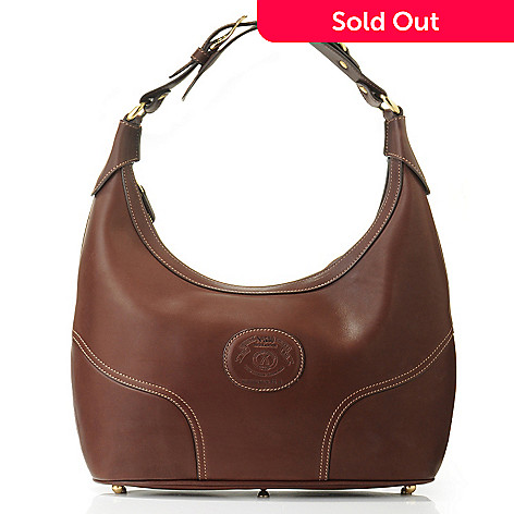 703-297 - Ghurka Women's ''Highlander'' Leather Hobo Handbag