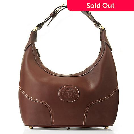 703-297 - Ghurka Women's ''Highlander'' Leather Hobo Handbag