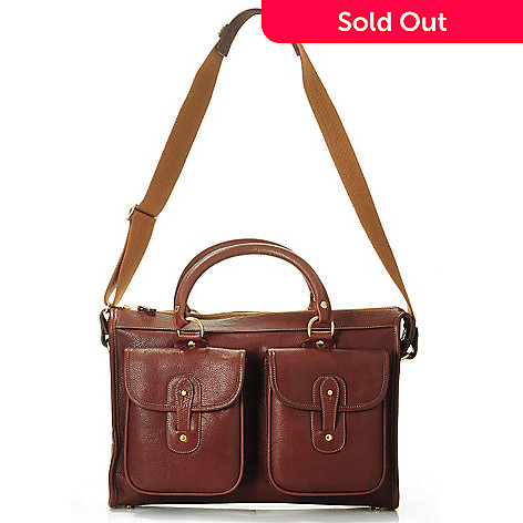 703-372 - Ghurka Men's ''The Examiner'' Limited Edition Leather Briefcase