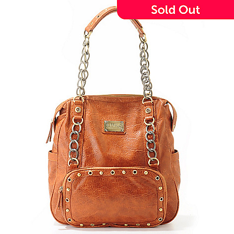 704-232 - Buffalo by David Bitton ''Tanya'' Chain, Stud & Grommet Detail Tote