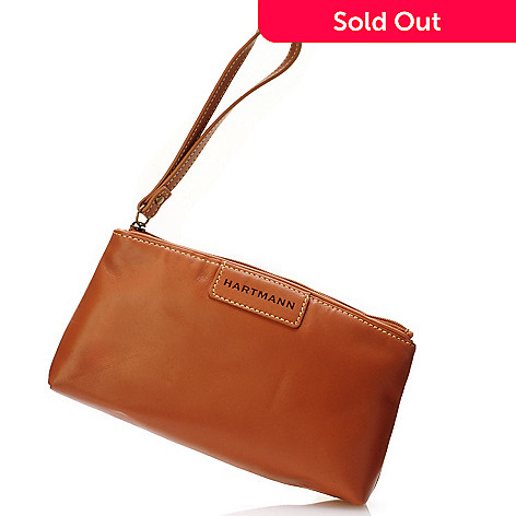 704-319 - Hartmann® Zippered Belting Leather Wristlet
