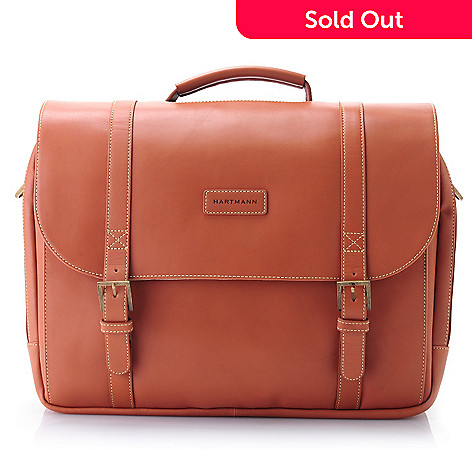 704-325 - Hartmann® Belting Leather Saddle Bag Briefcase