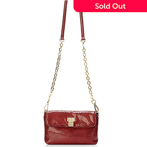704-405 - Calvin Klein Handbags Leather Cross Body Clutch