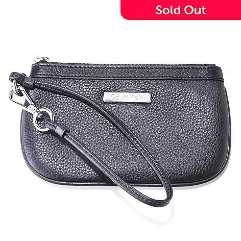 704-410 - Calvin Klein Handbags Leather Wristlet