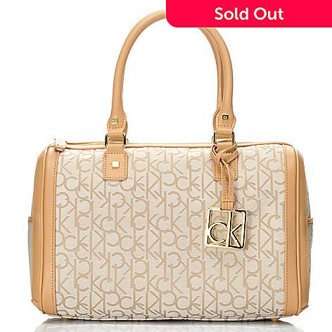 704-413 - Calvin Klein Handbags Logo Jacquard Duffle