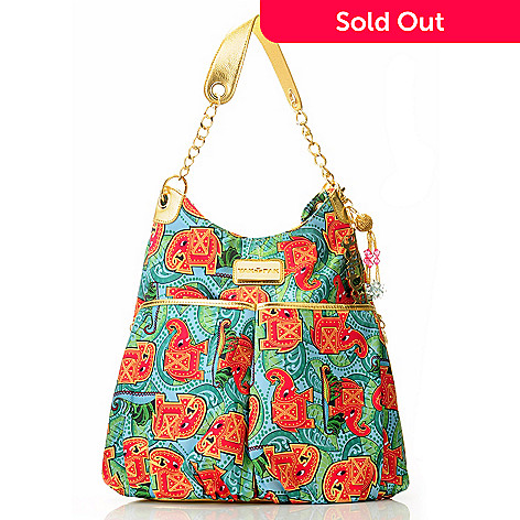 704-485 - Bollydoll By Yak Pak ''Maya'' Two-Pocket Hobo Handbag