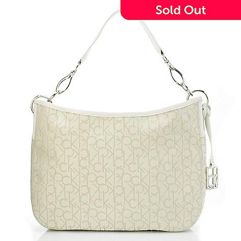 704-504 - Calvin Klein Handbags Logo Jacquard Hobo