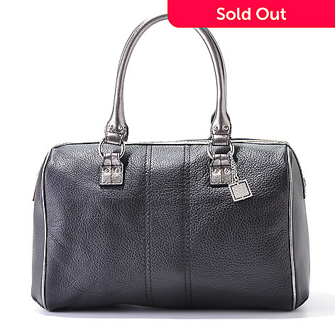 704-510 - Calvin Klein Handbags Leather Domed Duffle