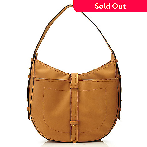 704-568 - Brooks Brothers® Nubuck Leather Hobo Handbag