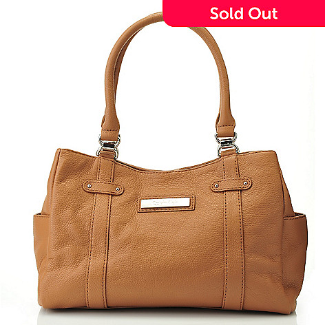 704-637 - Calvin Klein Handbags Leather Satchel