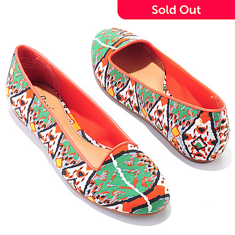 704-713 - Bass Shoes ''Brooklynn'' Printed Loafers