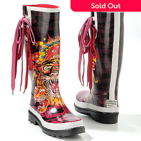 705-765 - Ed Hardy® Women's ''Seattle'' Rain Boots