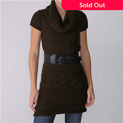 707-055 - Ci Sono by Adi Junior's Short Sleeve Sweater w/ Removable Belt