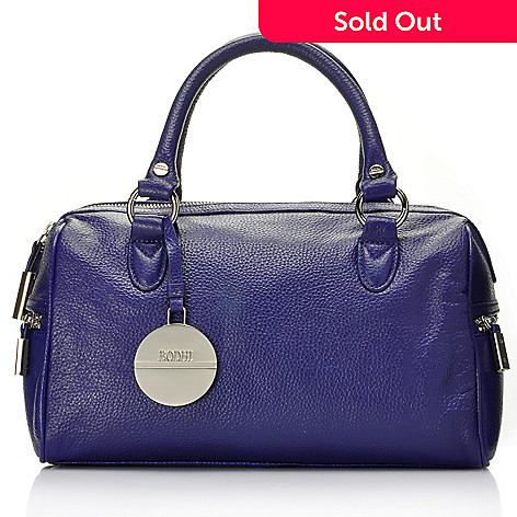 709-356 - Bodhi ''Candy'' Pebbled Leather Satchel Handbag