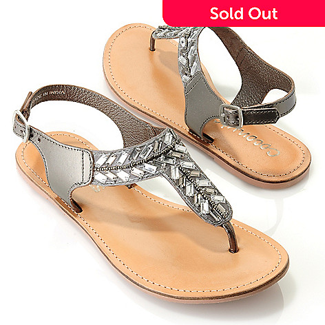 709-550 - Coconuts by Matisse® ''Orbitz'' Quarter Strap Thong Sandals