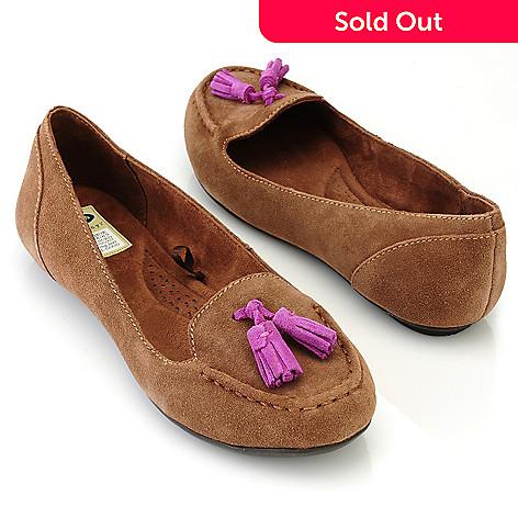 709-557 - Dr. Scholl's® ''Florenza'' Tassled Suede Loafers