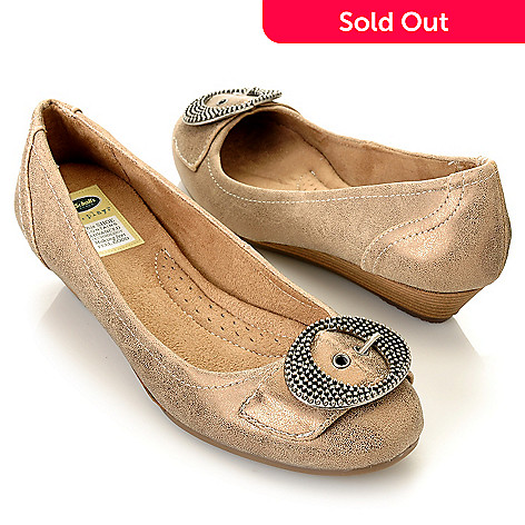 709-563 - Dr. Scholl's® ''Mistle'' Buckle Detailed Micro Wedges