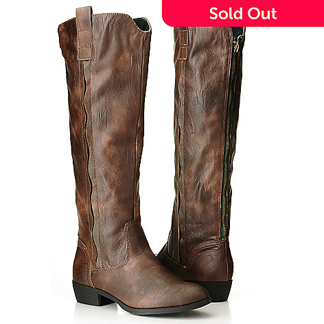 709-576 - MIA ''Cavalry'' Back-Zip Knee-High Riding Boots