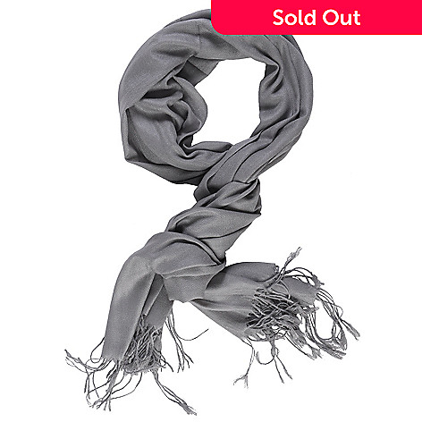 709-733 - Hailey Jeans Co. Women's Fringe Detail Pashmina Blend Scarf