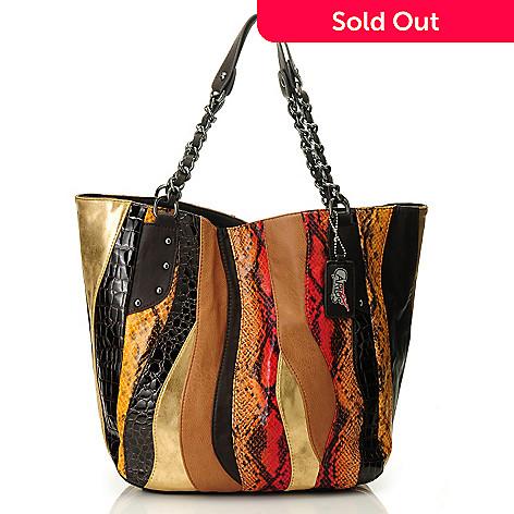 709-920 - Carlos by Carlos Santana ''Melodia'' Chain Shopper Handbag