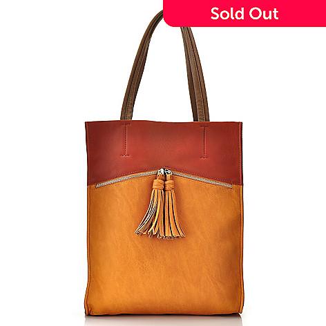 709-921 - Carlos by Carlos Santana ''Colores'' Snake Embossed Tote Handbag