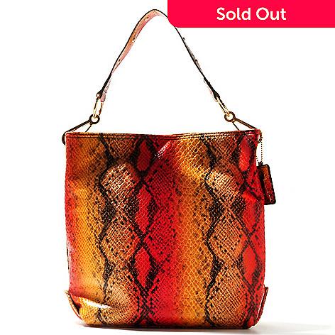 709-923 - Carlos by Carlos Santana ''Macuba'' Snake Embossed Bucket Tour Handbag