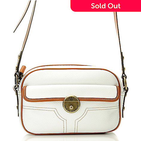 709-936 - PRIX DE DRESSAGE Leather Zip Top Cross Body Bag
