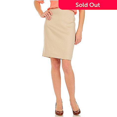 710-086 - Brooks Brothers Linen Pencil Skirt