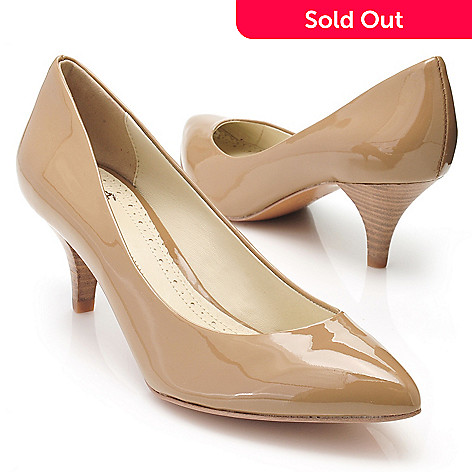 710-111 - Brooks Brothers® Patent Leather Kitten Heels