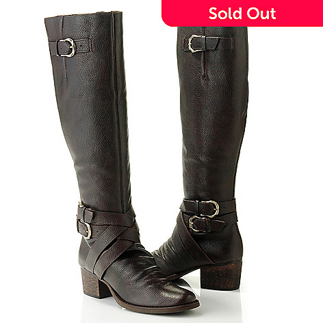 710-502 - Matisse Leather Buckle Detailed Riding Boots