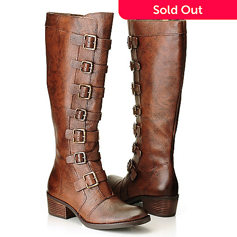 710-510 - Matisse Leather ''Pepper'' Equestrian-Style Boots