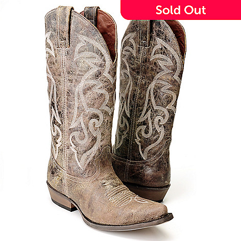 710-516 - Matisse Leather ''Tombstone'' Classic Western Boots