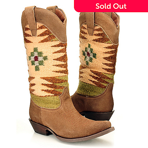 710-517 - Matisse® Leather ''Abeline'' Blanket Boots