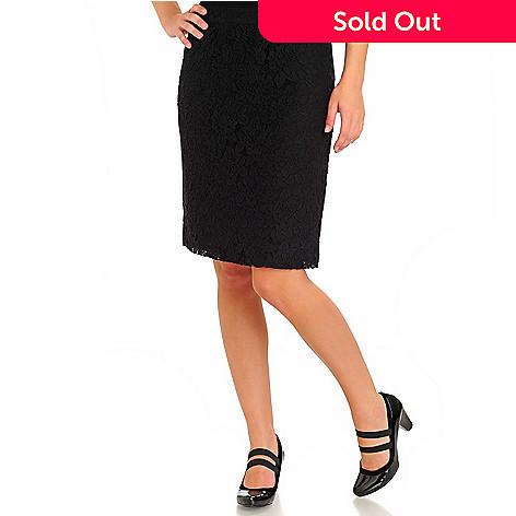 710-581 - WD.NY Back Zip Lace Skirt