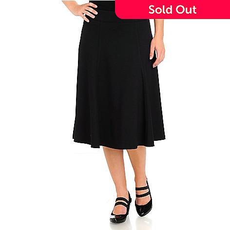 710-584 - WD.NY A-Line Ponte Skirt